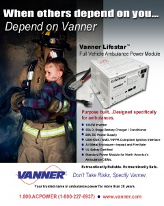 Vanner LifeStar Ambulance Power Module
